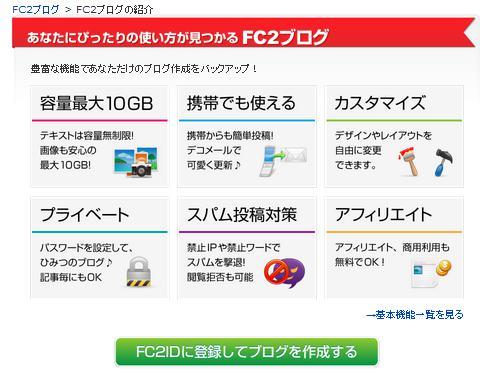 FCブログ